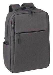 KORINT Pevný batoh na notebook nebo tablet, antracitová
