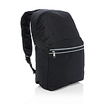 KATAI Jednoduchý batoh sbezpečnostními reflexními prvky, černá