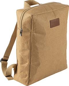 Menší jednoduchý batoh z laminovaného papíru