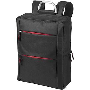 """Batoh na laptop o velikosti 15,6"""", černá/červená"""