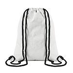 Batoh se šňůrkami z pevného a recyklovatelného Tyvek® materiálu s bavlněnými šňůrkami