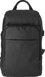 Batoh s kapsou na notebook a funkcí odlehčení