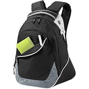 """Batoh na laptop 15"""" s přední zipovou kapsou"""