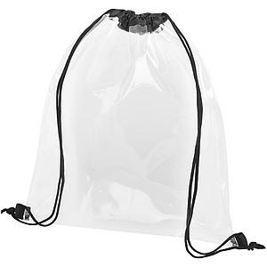 Průhledný PVC batůžek