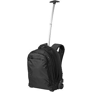 Luxusní batoh na kolečkách, černá