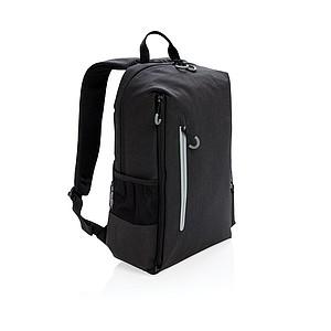 """RFID & USB batoh Lima na 15"""" notebook, černá"""