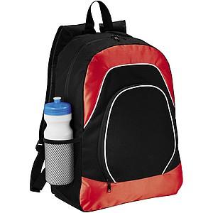 Batoh s kapsou pro tablet, černý/červený