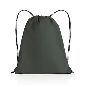 Šňůrkový batoh Impact ze 190T RPET AWARE™, antracitová