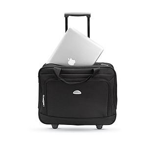 """Business kufřík na kolečkách, pro laptop 15"""", černá"""