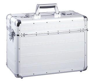 hliníkový pilotní kufr se zámkem
