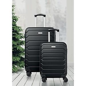 Sada dvou kufrů na kolečkách, černý