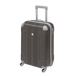 Kufr na kolečkách, možnost balení z obou stran, antracitová