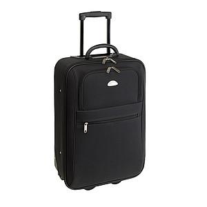 Kufr na kolečkách palubní velikosti, černý