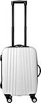 Cestovní kufr se čtyřmi kolečky, integrovaný zámek, černý