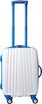 Cestovní kufr se čtyřmi kolečky, integrovaný zámek, sv.modrý