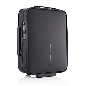 Skládací kufr a příruční zavazadlo v jednom, černá