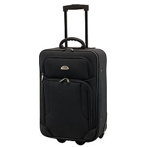 Malý kufr na kolečkách, černý