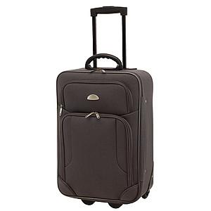 Malý kufr na kolečkách, šedý