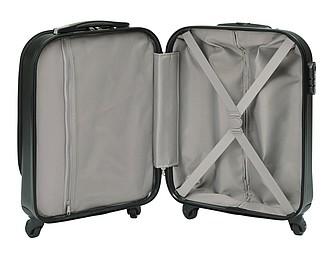 KATER Plastový kabinový kufr na 4 snadno ovladatelných kolečkách