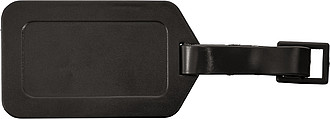 OSLO Jmenovka na zavazadla černá