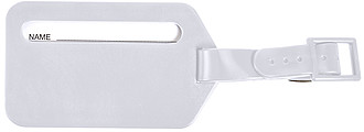 OSLO Jmenovka na zavazadla, bílá
