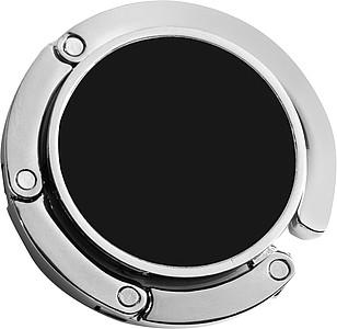 ZEWEDO Skládací kovový háček na kabelku, černá