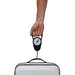 TYRANDE Váha na zavazadla, ABS s kovovým háčkem, černá