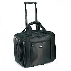 Kufřík na kolečkách na dokumenty nebo laptop, černá