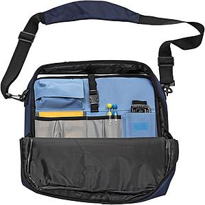 MEFISTA Taška přes rameno na laptop, modrá