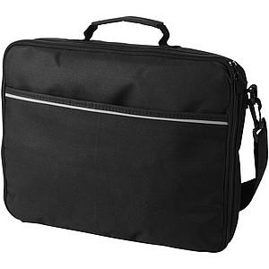 Taška na laptop z 600D polyesteru, černá