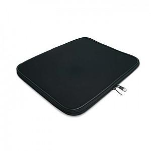 Nepromokavá taška na laptop, syntetická guma, černá
