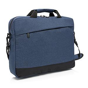 Taška na notebook, polyester 600D, 8l, modrá