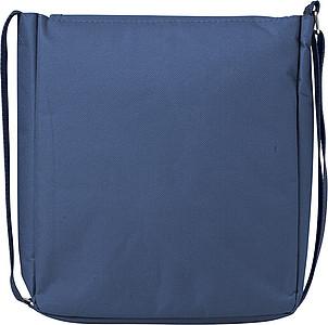 Taška přes rameno, vhodná na tablet, modrá