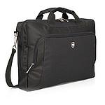 """Luxusní taška Swiss Peak na 15"""" notebook, černá"""