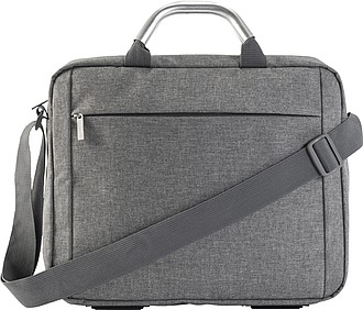 Plátěná (Polycanvas 600D) konferenční taška na laptop.