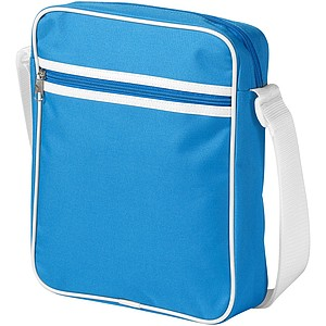 Malá taška na rameno pro iPad, světle modrá