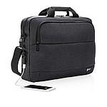 """Moderní taška na laptop Swiss Peak 15"""", černá"""