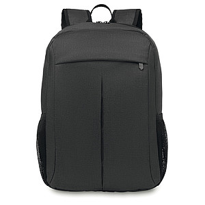 Batoh na notebook z dvoubarevného polyesteru, šedá