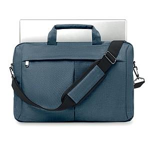 Taška na notebook z dvoubarevného polyesteru