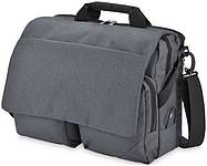 Taška s klopou na laptop, kolekce Marksman Navigator, šedá