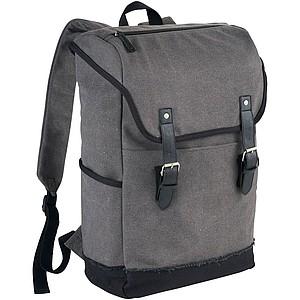 """Batoh na laptop 15.6"""", šedá, černá"""