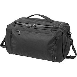 Sportovní taška s kapsou na tablet, černá