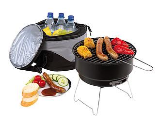 JUKER Přenosný piknikový grill