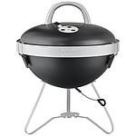 Gril Jamie Oliver GO BBQ, černá, stříbrná