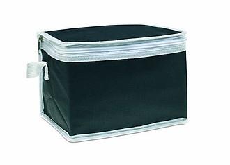 Chladící taška na plechovky, černá