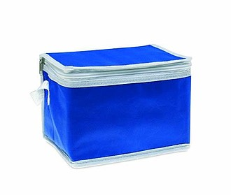 Chladící taška na plechovky, modrá