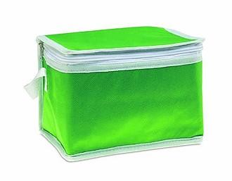 Chladící taška na plechovky, zelená