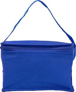 Chladící taška na 6 plechovek, netkaná textilie, tm. modrá