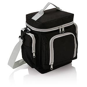 Chladící taška, polyester 600D, černá