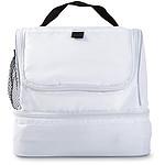 Chladící taška s dvěma oddíly, bílá